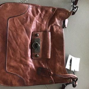 FRYE Crossbody New! Leather